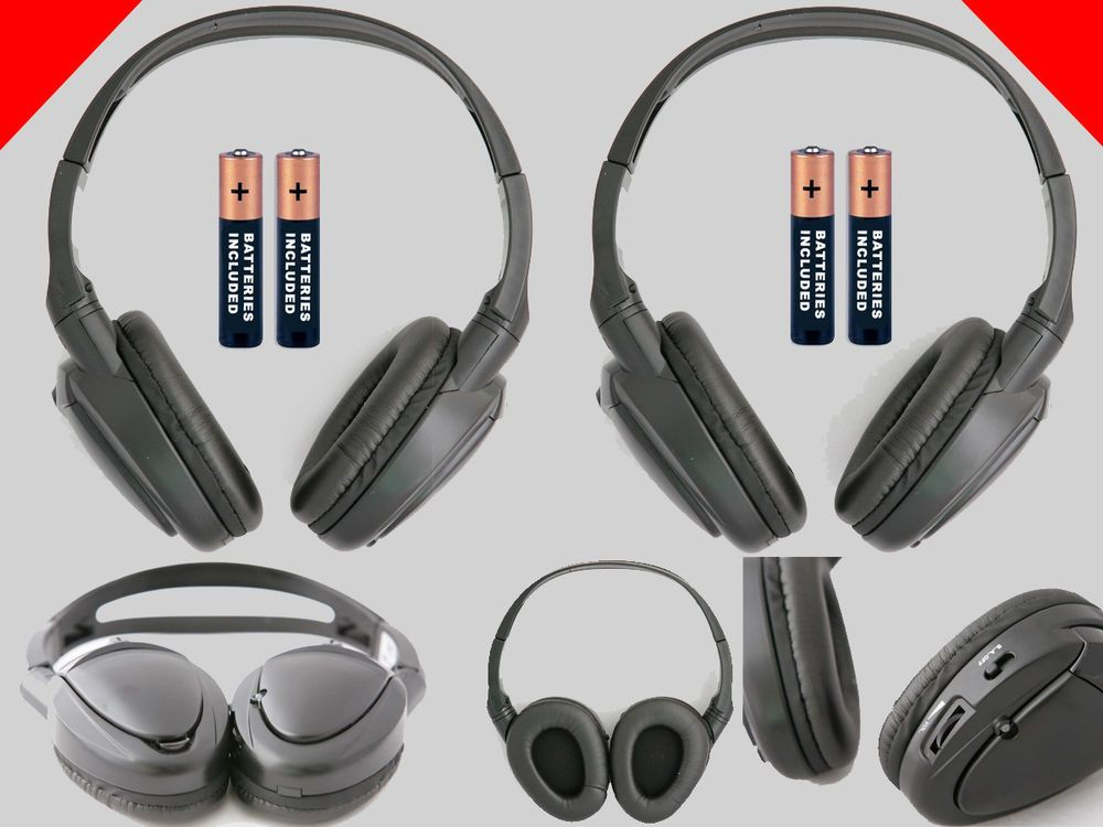 Details About 2 Wireless Headphones For Ford Dvd System New