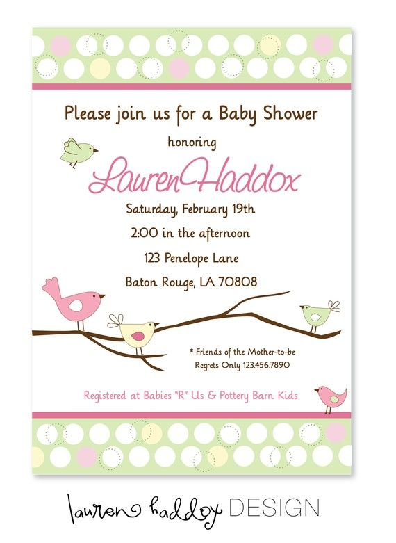Ordinary Pottery Barn Baby Shower Part - 7: Baby Shower Invitation Pottery Barn By LaurenHaddoxDesigns On Etsy, $12.00