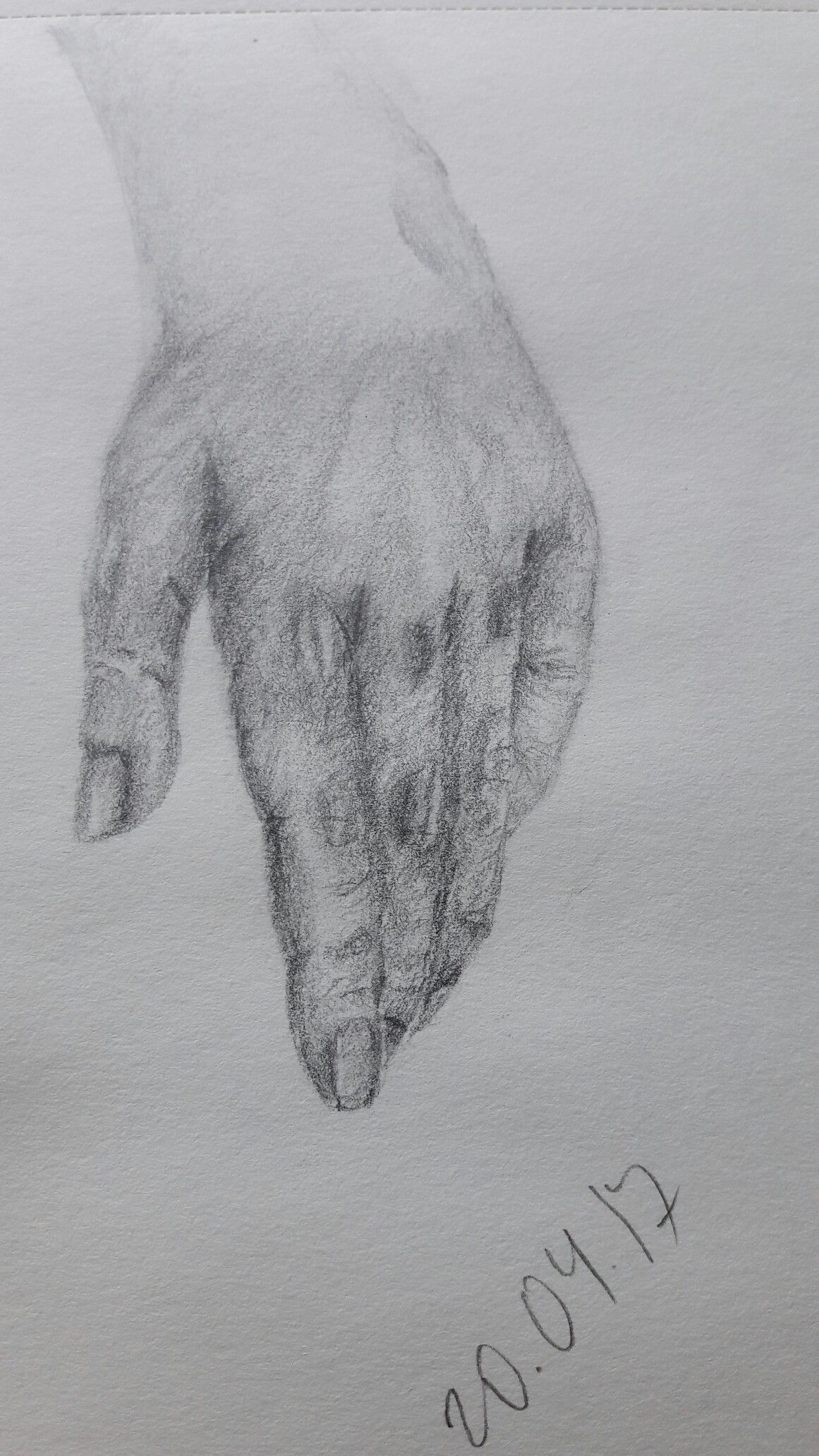 My trials, sketches & drawings of hands | Human anatomy drawing ...