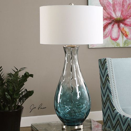 """found it at wayfair  vescovato 38"""" h table lamp with drum"""