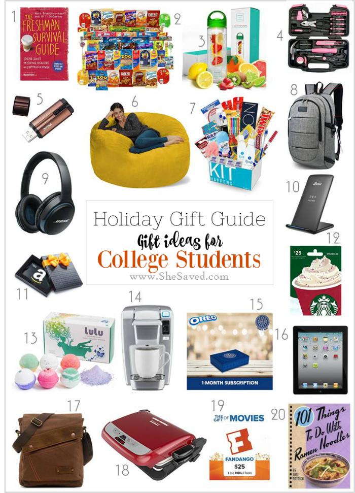 Holiday Gift Guide Gifts For College Students College Student