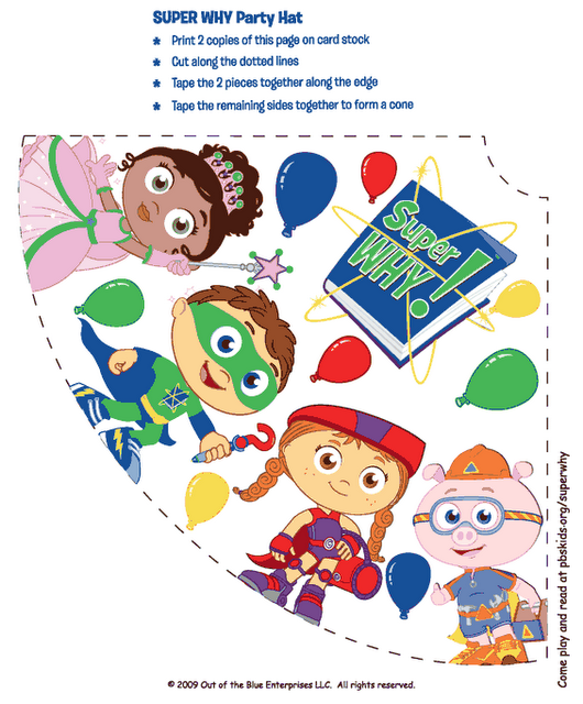Sarah With An H Super Why Party Super Why Party Super Why Birthday Super Why
