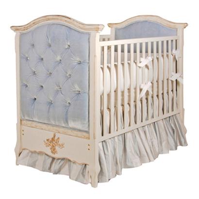 Bordeaux Crib In 2020 Upholstered Crib Cribs Tufted Crib