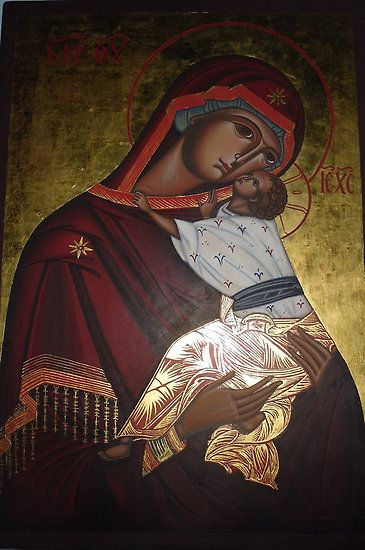 Mother of God by vimasi