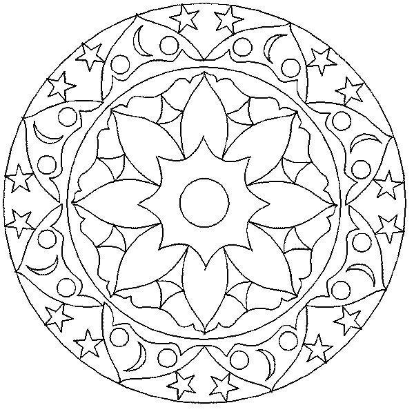 Mandalas 017 Jpg 600 600 Abstraktnye Raskraski Raskraski Mandala Rozhdestvenskie Raskraski