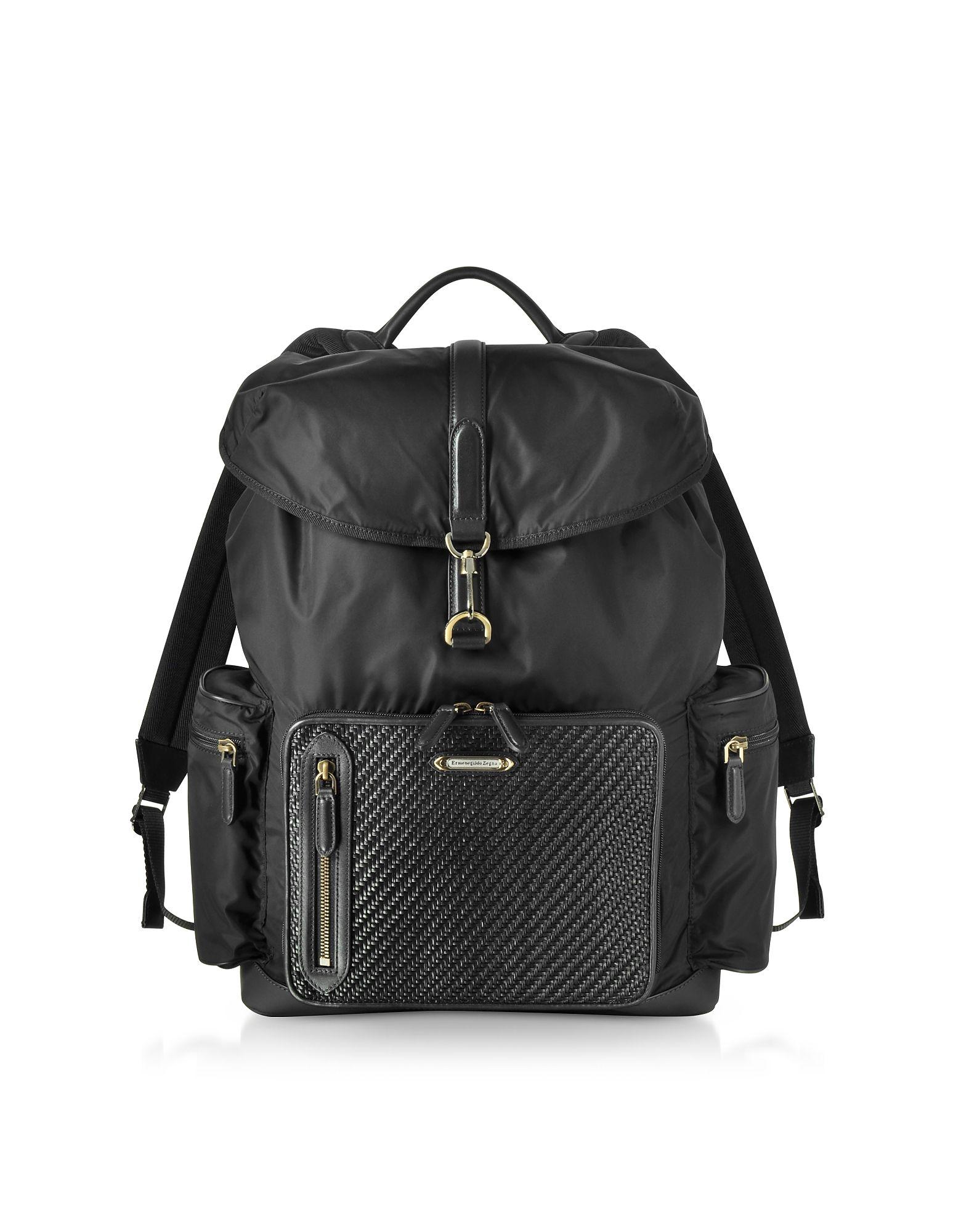 7dd99b9566 ERMENEGILDO ZEGNA . #ermenegildozegna #bags #leather #nylon ...