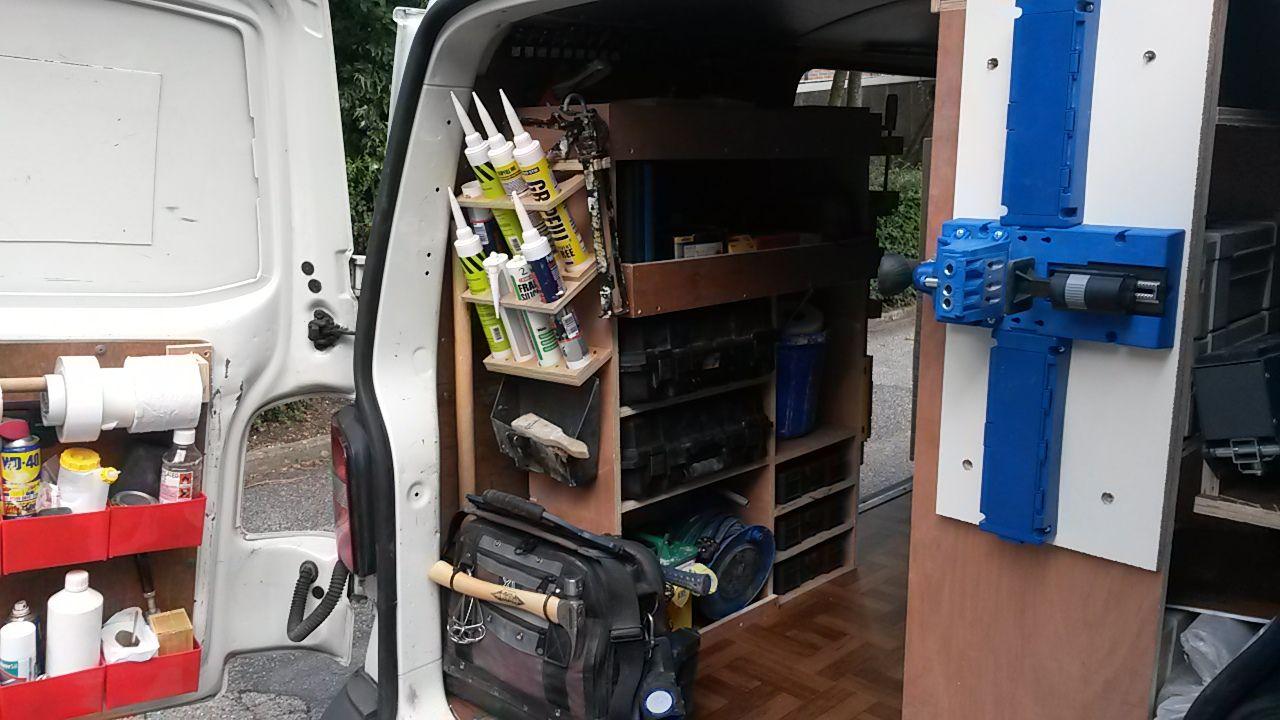 My Transporter T5 Van Systainer Racking Van Storage Van Racking Van Shelving