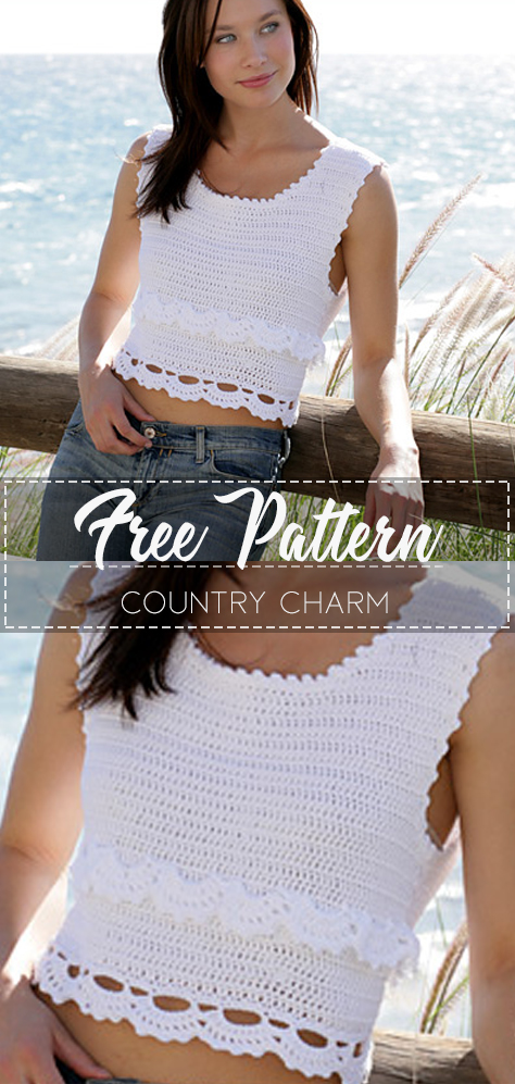 Country Charm – Pattern Free – Easy Crochet
