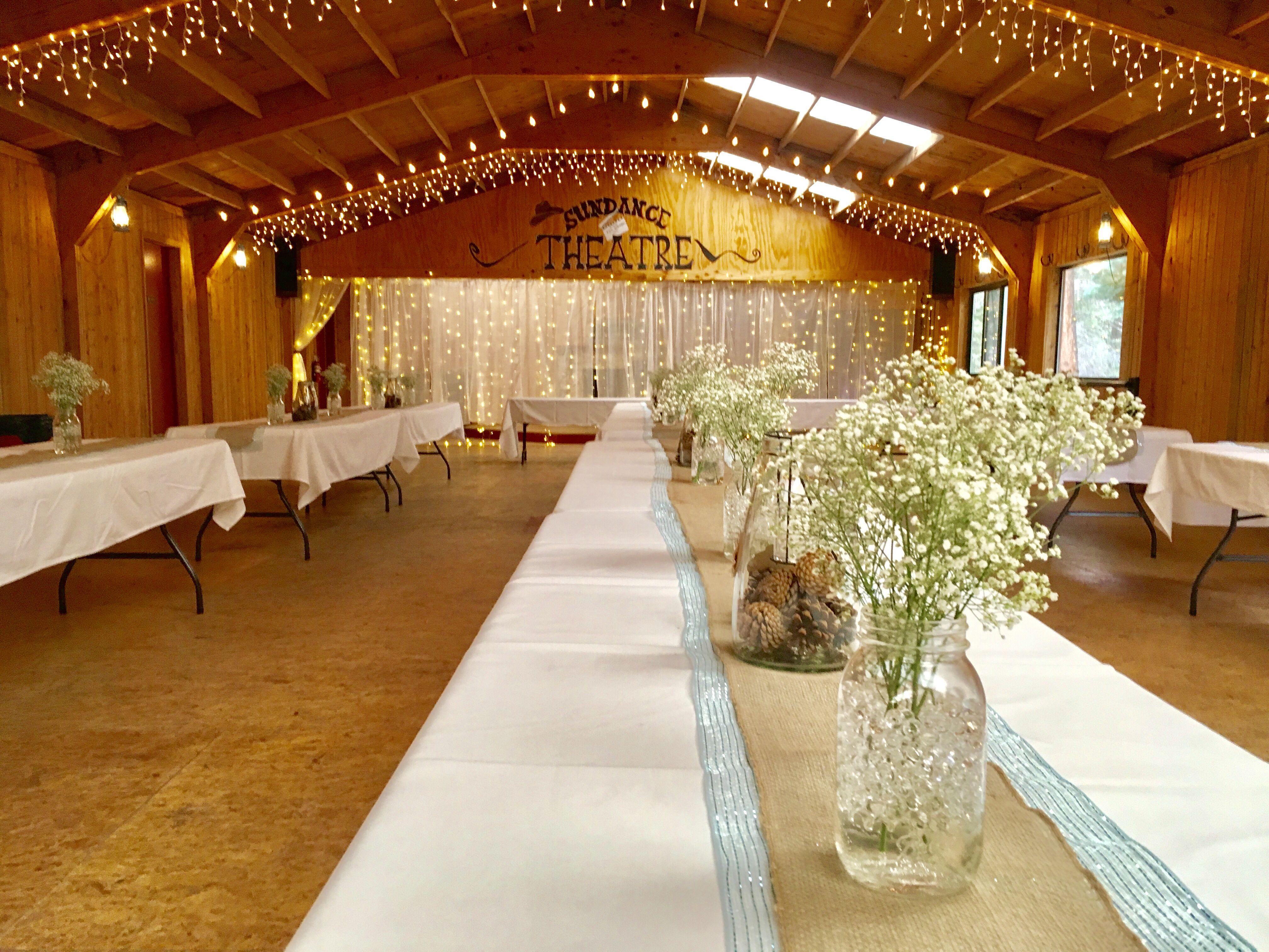 Beautiful Rustic Wedding Reception Rustic wedding venues