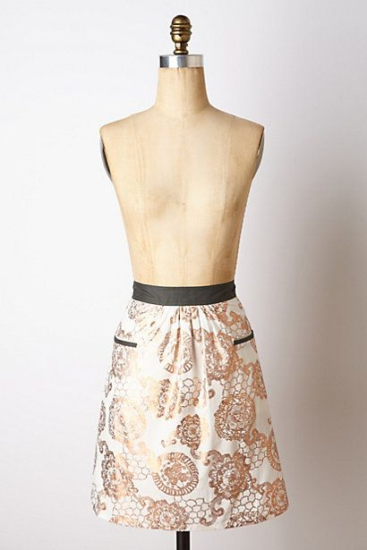 Scrollwork Apron, $24 | Anthropologie