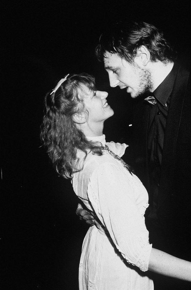 Helen Mirren and Northern Irish actor Liam Neeson met as ...