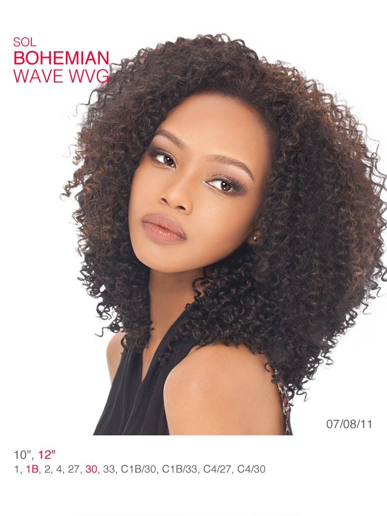 """buy 1 get 1 free - outre sol bohemian 10"""", 12""""   tresses ooh lala"""