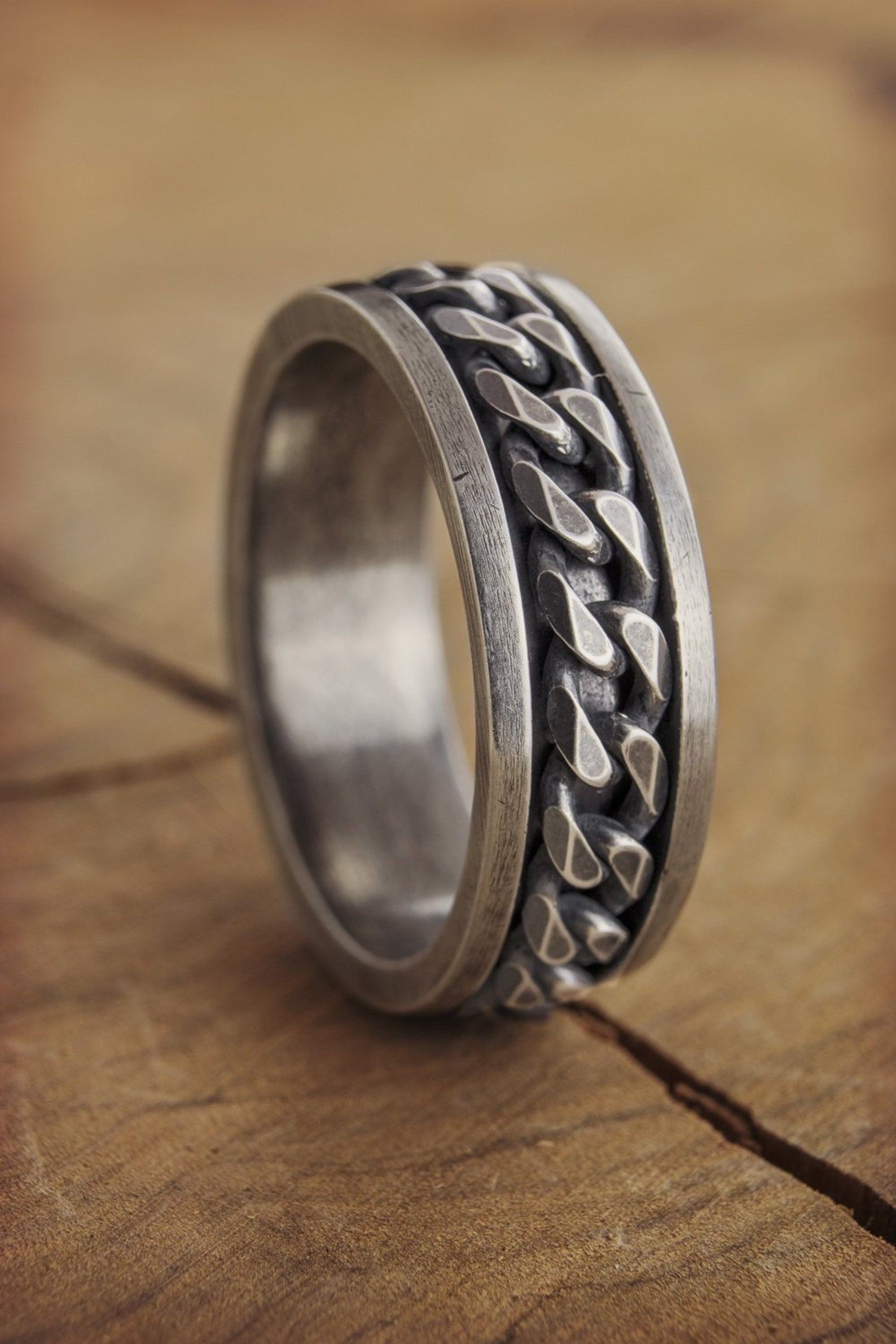 Mountain Style Oxidized Engraving Woman Ring Silver woman Wedding Band Perfect Valentine/'s Day Gift For her. Wedding Band
