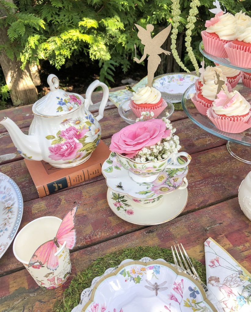 Fairy Garden Tea Party Ideas For Girls. Fairy Birthday