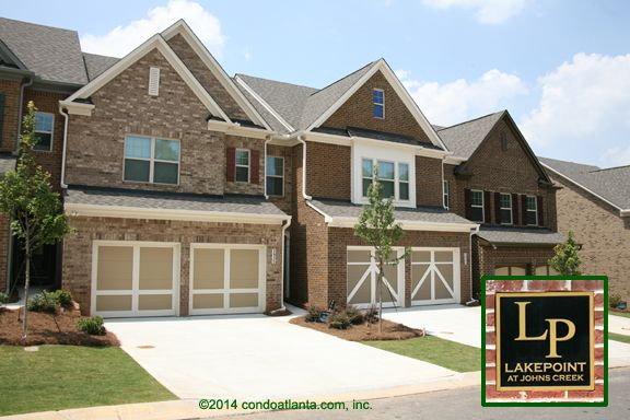 Lakepoint At Johns Creek Townhomes For Sale In Suwanee Georgia