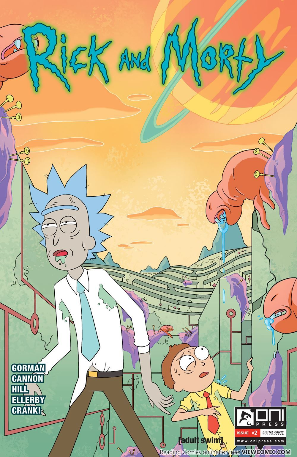 Rick And Morty 002 2015 Viewcomic Reading Comics Online For Free 2018 Rick And Morty Comic Rick And Morty Poster Rick And Morty