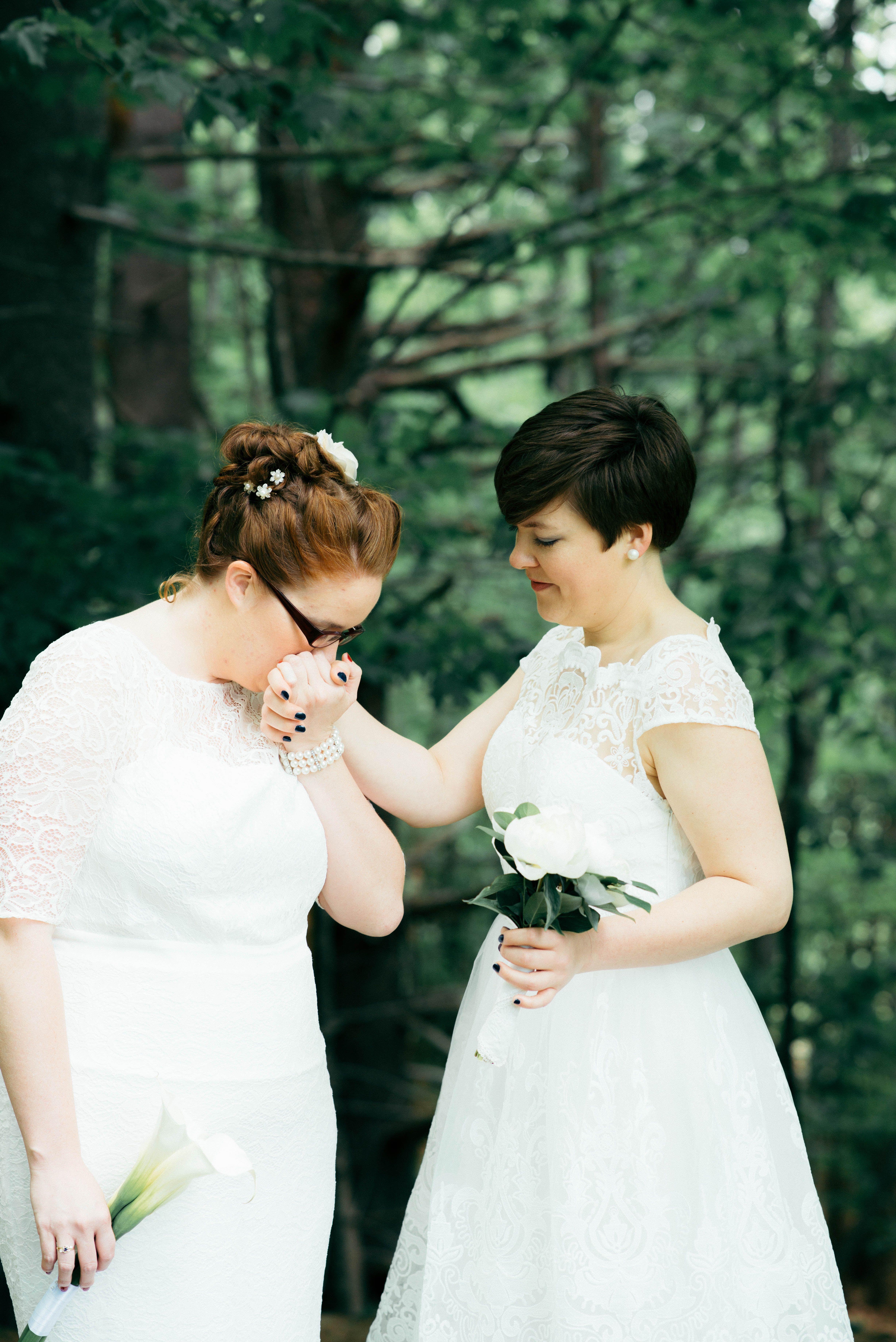 Angel woods lesbian