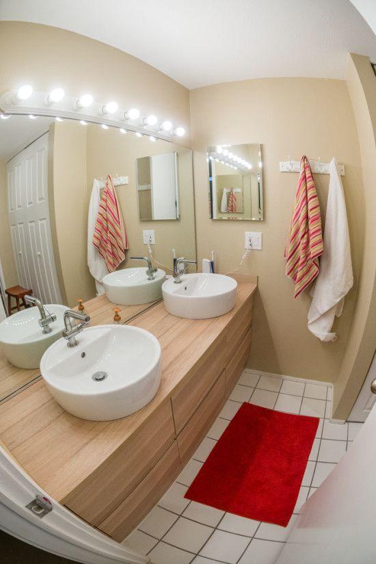 Allonger un meuble GODMORGON pour rénover une salle de bain ...