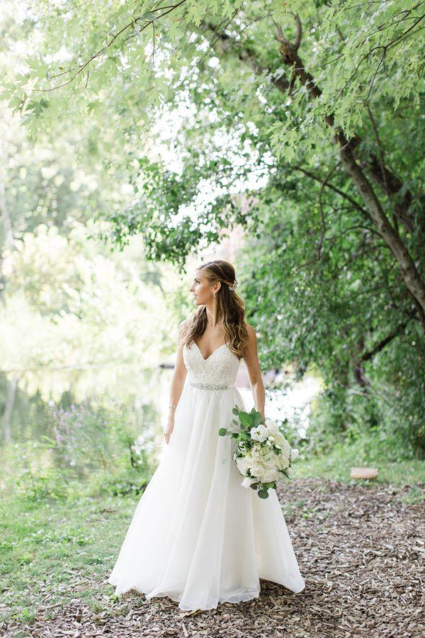 Elegant Aline Leanne Marshall Wedding Dress Http Www Stylemepretty