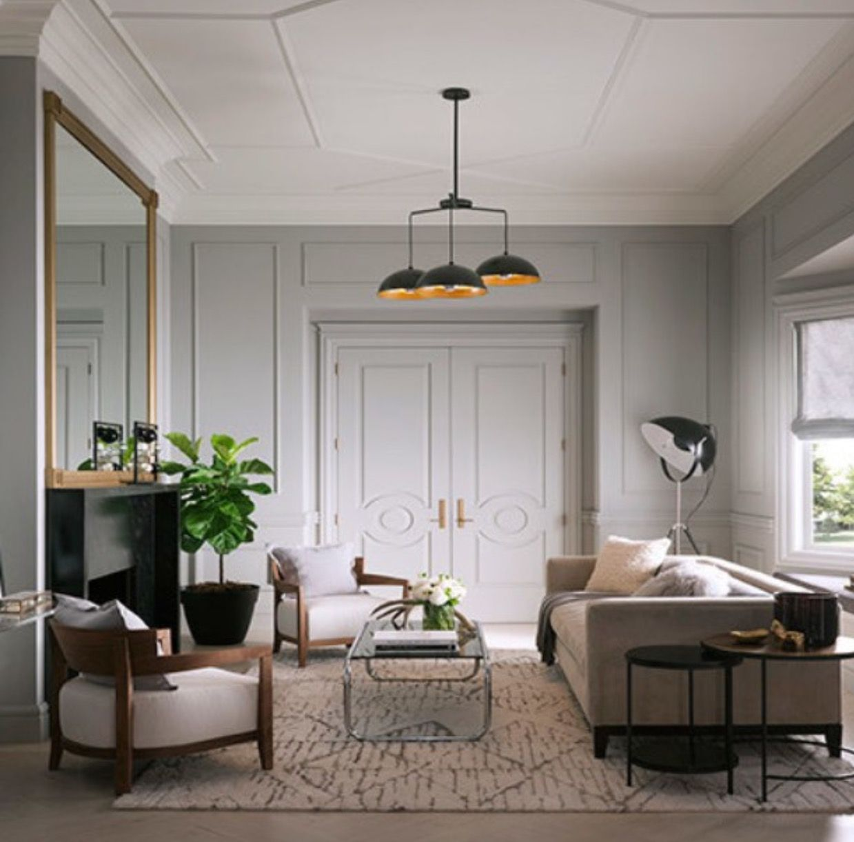 Benjamin Moore Colors For Your Living Room Decor: Benjamin Moore Coventry Gray