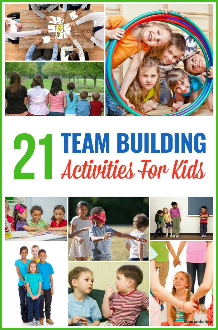 21 Fun Team Building Activities For Kids Teamwork Exercises And