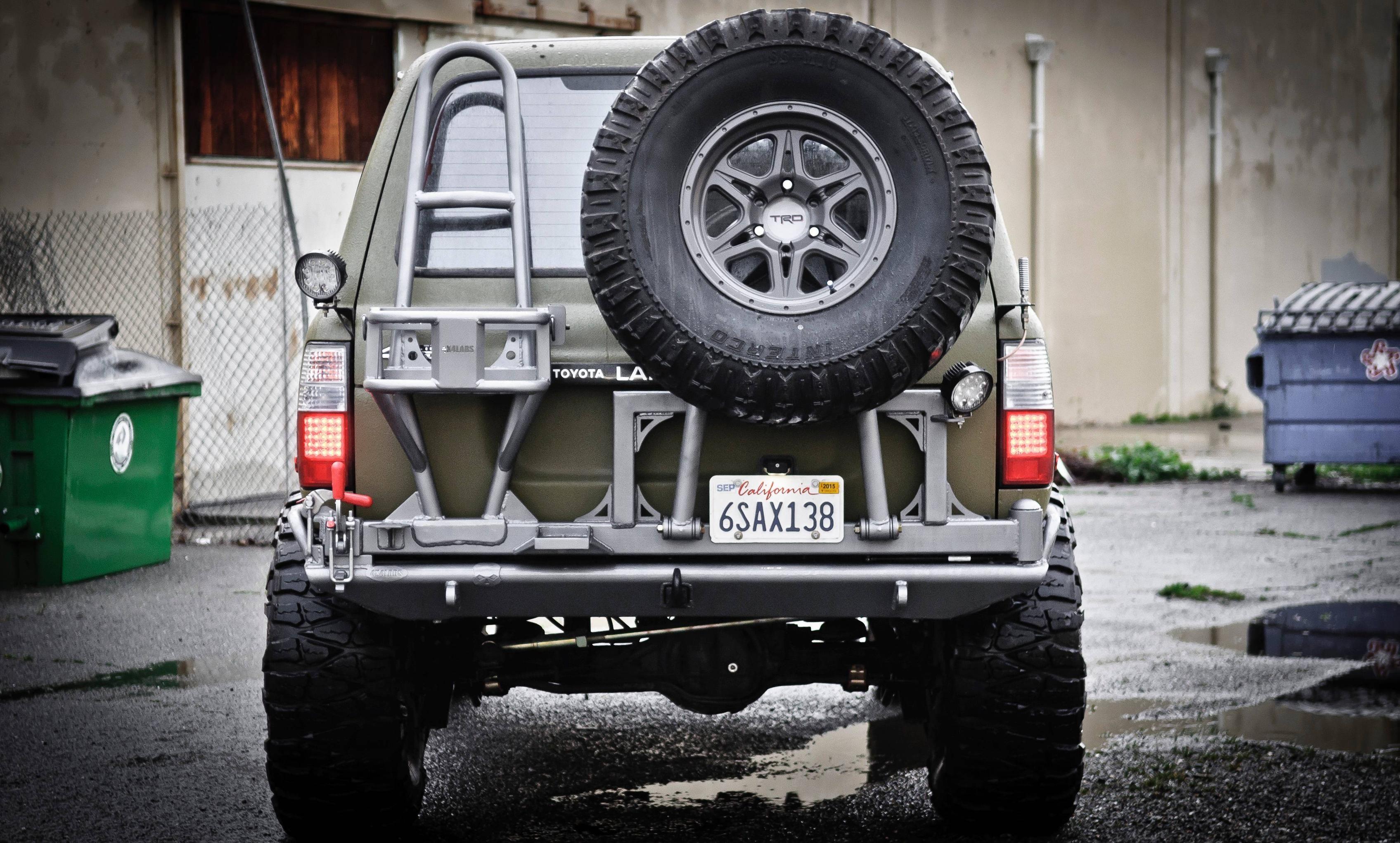 80-Series rear bumper | Vehicles: MODS | Land cruiser