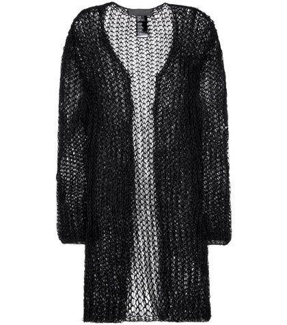 Haider Ackermann Cotton And Mohair-blend Open Cardigan For Spring-Summer 2017