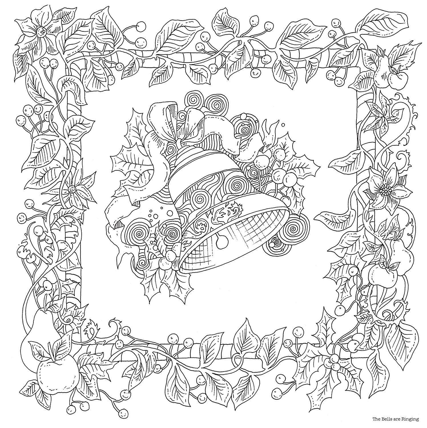 The Magical Christmas A Colouring Book Magical Colouring Books