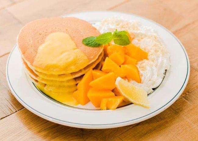 その味は「世界一」。ハワイ産の完熟パパイヤを使ったパンケーキ