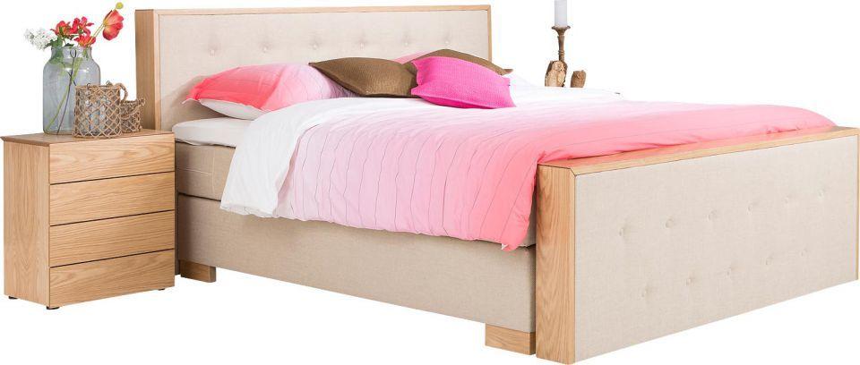 #boxspring Boston - #slaapkamer #dipdye #beige - #Goossens wonen slapen