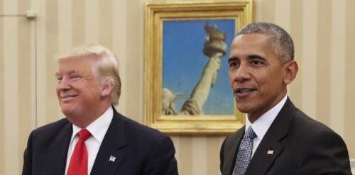 @BarackObama enseña a @realDonaldTrump  cómo ser líder mundial:...