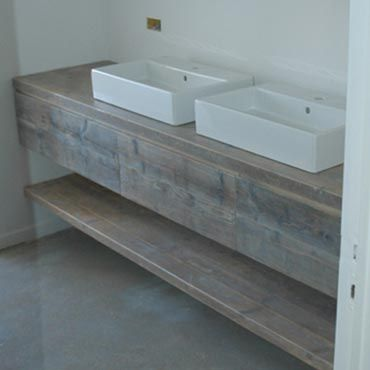 badkamermeubel steigerhout gebruikt rawcreationsbe