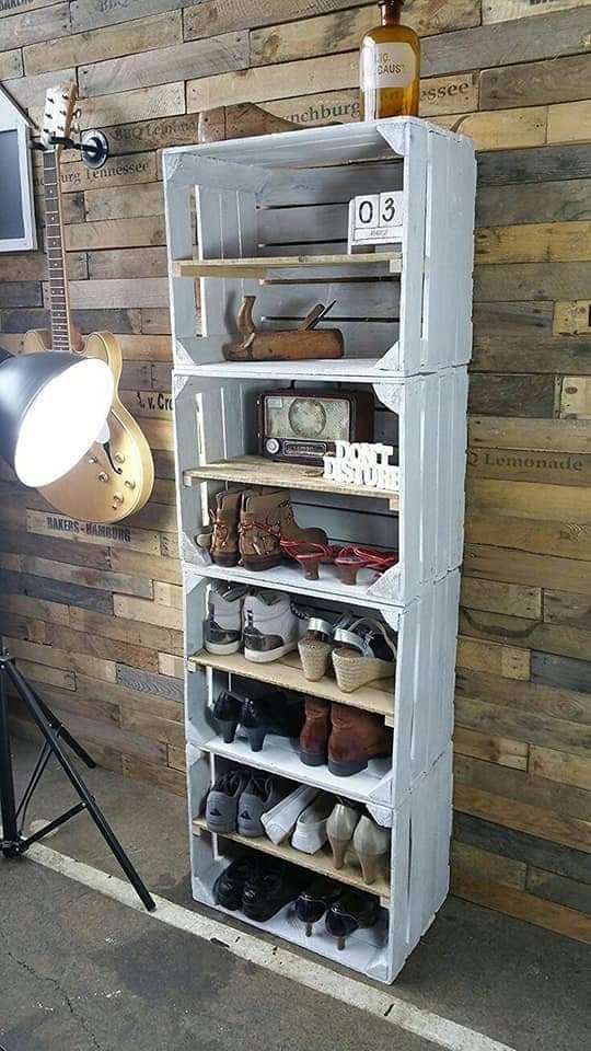 Decoração com caixotes de feira: dicas e fotos