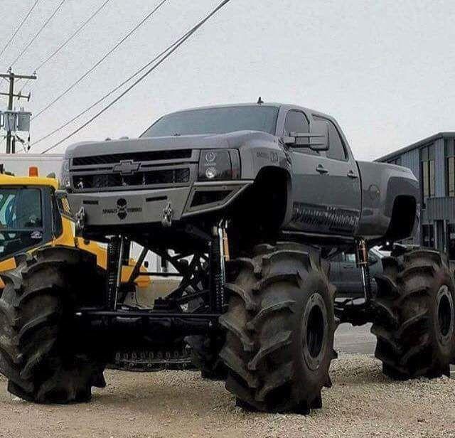 Diesel Brothers Jacked Up Trucks Diesel Trucks Mud Trucks