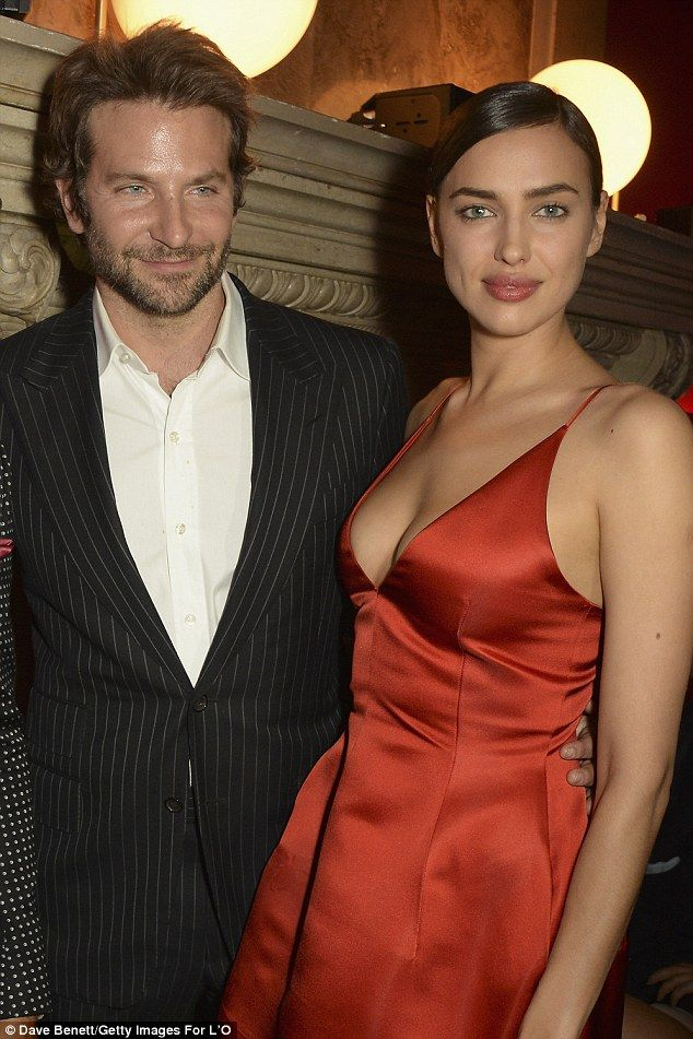 Keeping shtum: Neither Irina nor Bradley has yet commented on the pregnancy reports...