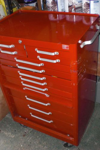 12 Drawer Mastercraft Tool Cabinet