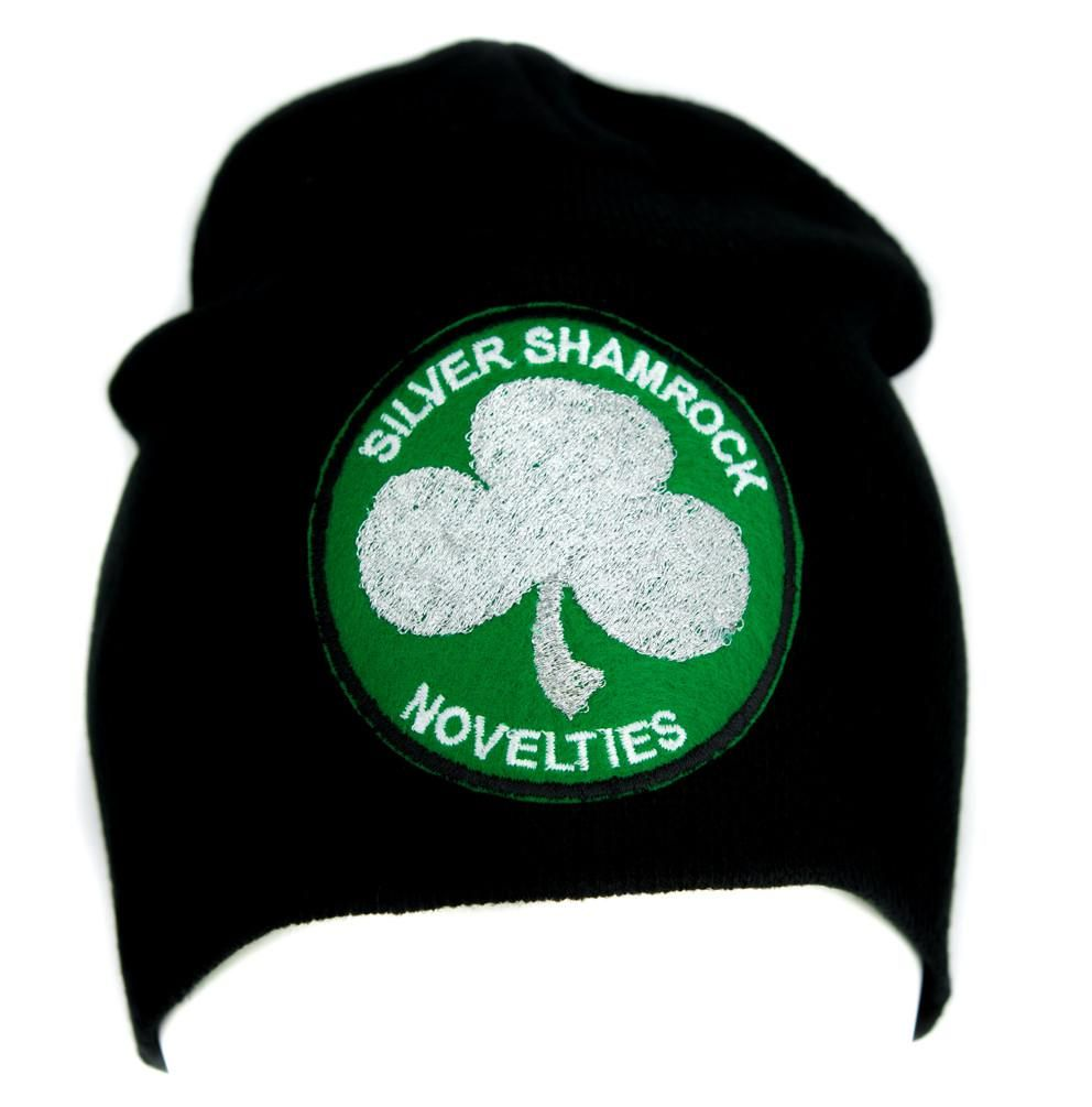 2ac04d8c703 Silver Shamrock Halloween III Beanie Alternative Clothing Knit Cap Season  of the Witch  wallet