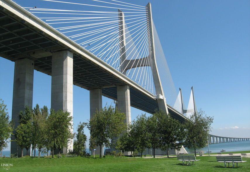 Ponte Vasco Da Gama Lisboa Vasco Da Gama Lisbon Spain And Portugal