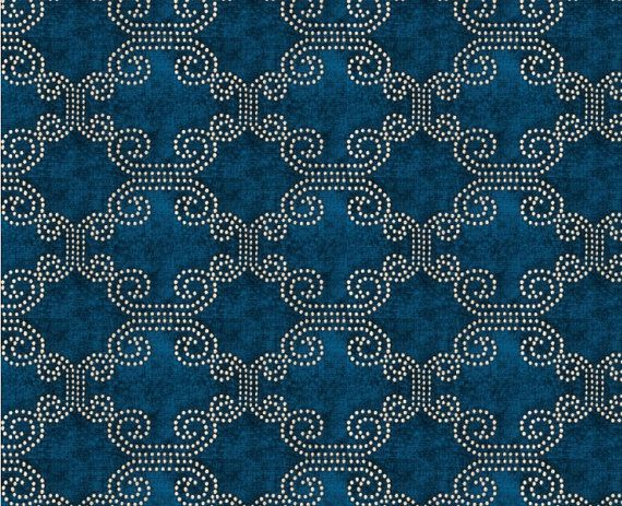 Peacock Blue Chenille Upholstery Fabric Moroccan Fabric For Furniture Blue Chenille Pillow Covers Ethn Fabric Headboard Upholstery Fabric Moroccan Fabric
