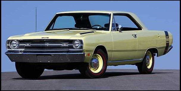 1969 Dodge Dart Gts Right Color Wrong Year Close Enough
