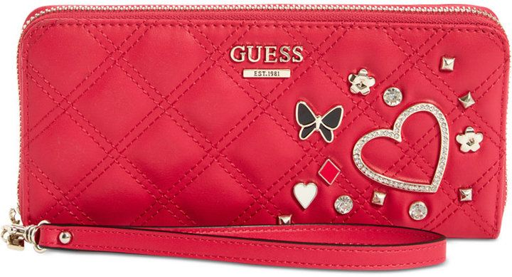 b55f3ce226 Guess Darin Large Zip-Around Wallet
