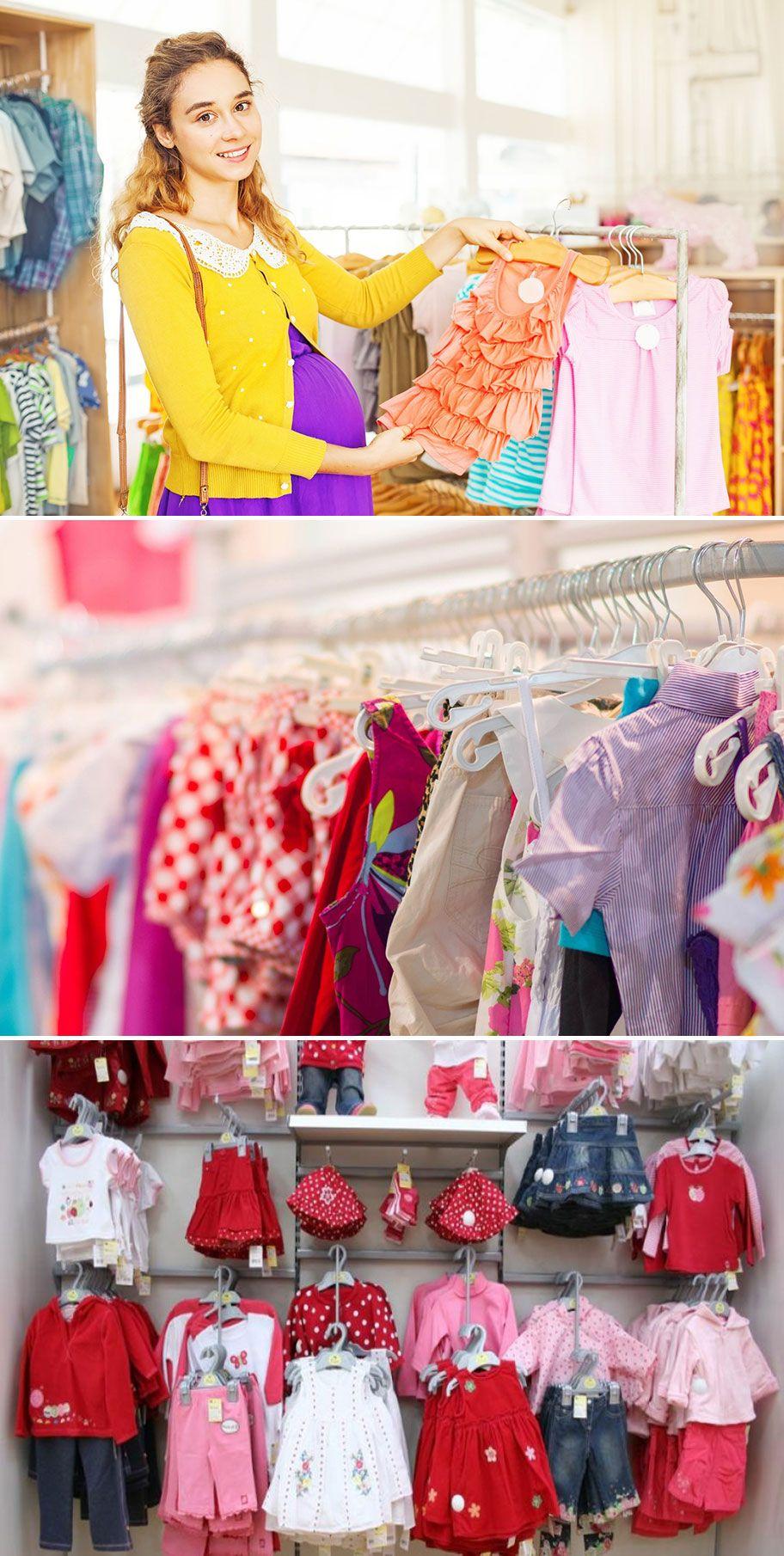 Desain Toko Baby Shop Minimalis