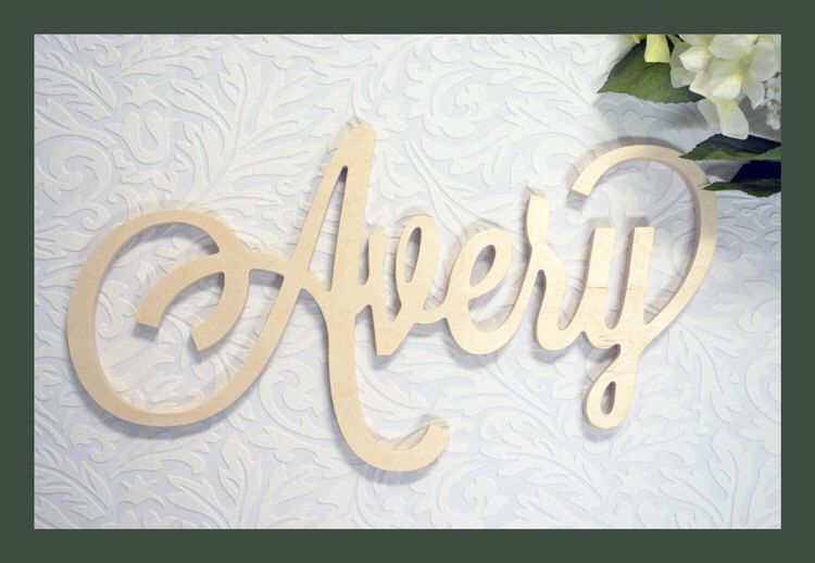 Custom Wooden Name Sign Personalized Plaque Door Hanger Nursery Decor Small Plates Wall Art By Miapreciousmemories On Etsy