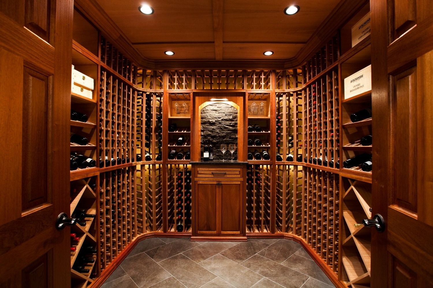 Wine Cellar Decorating Ideas Wine Room Ideas Pictures .for The Room To Be Framed Out At