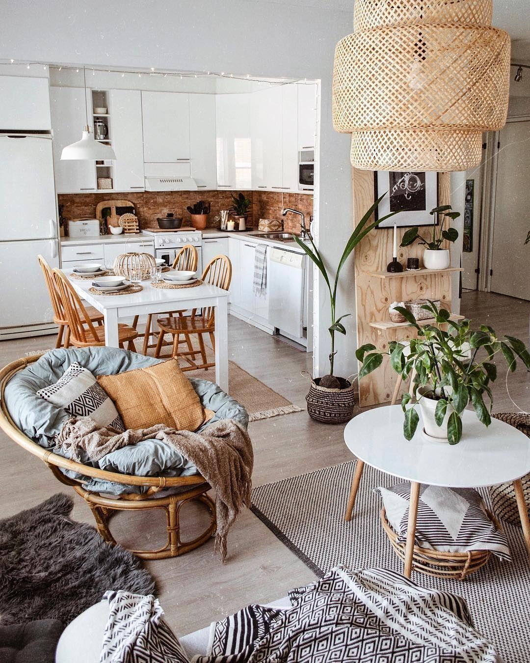 36 Amazing Papasan Chair Design Ideas For Your Living Room Bohem Tasarim Modern Ic Mekanlar Dekor