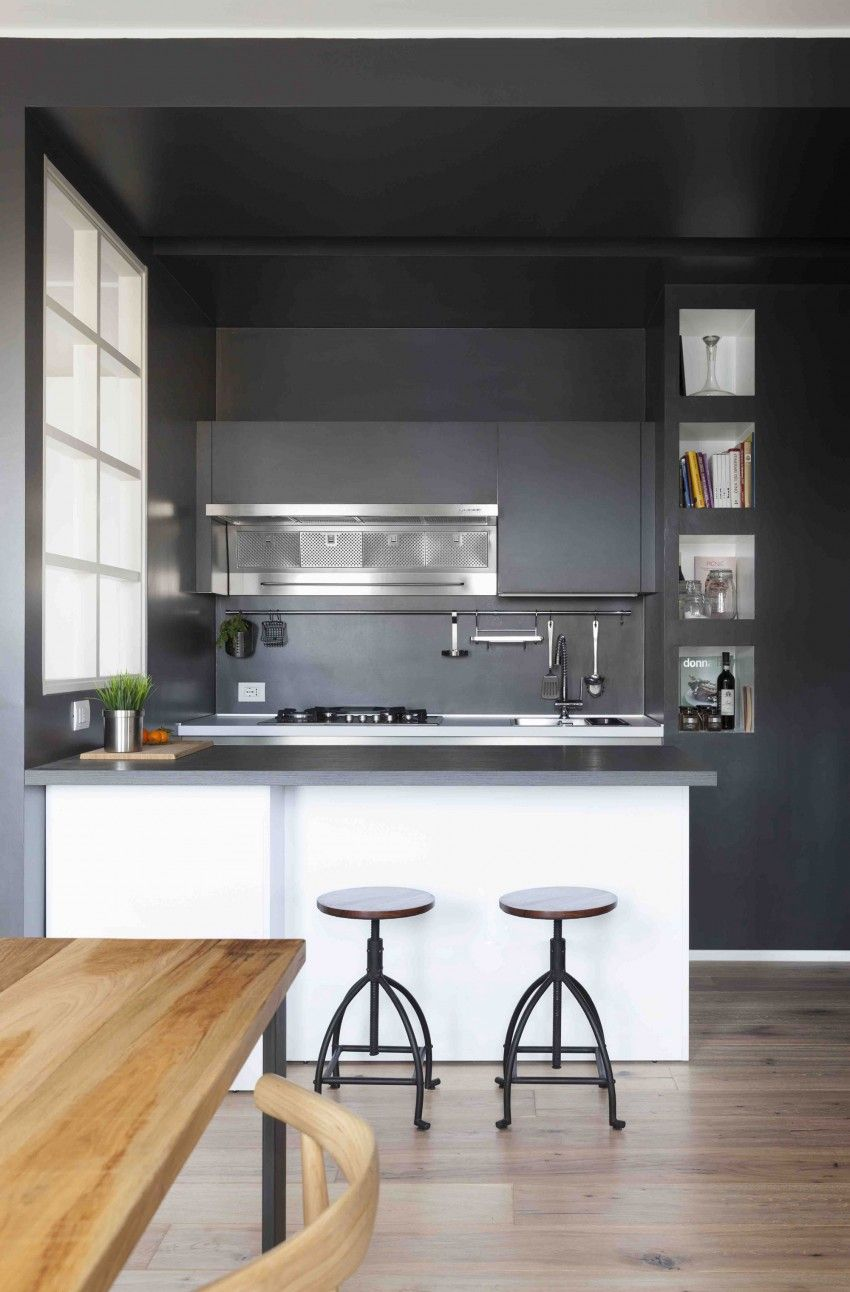 Casa danda by margstudio milan italy small spaces and kitchenette