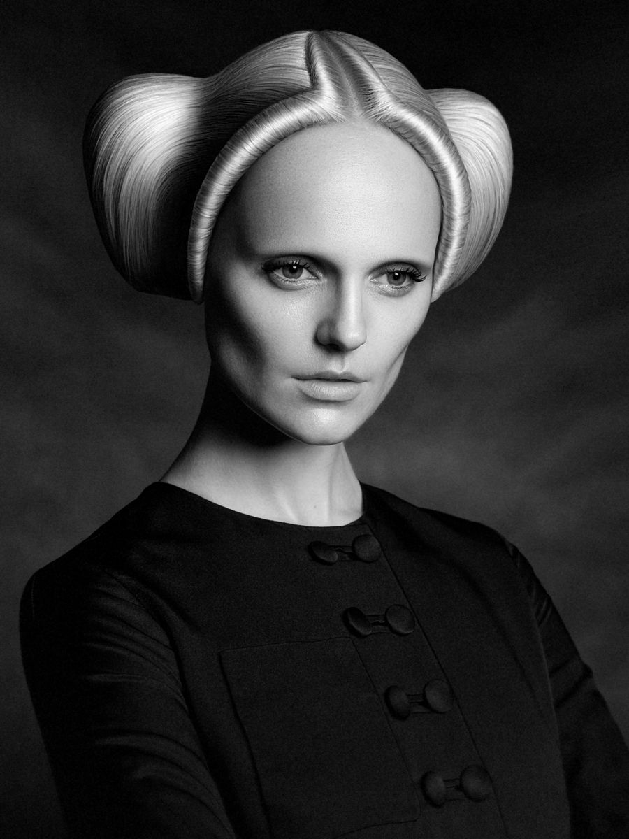 hair - irina debrovenko indeart russian