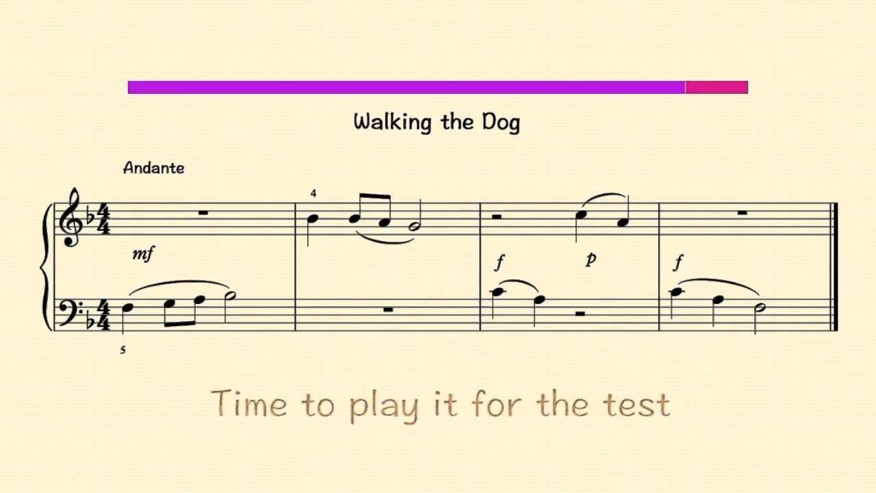 Pin On Music Sight read piano score