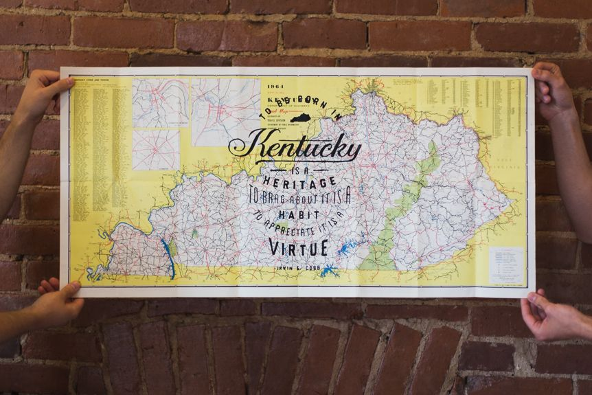 Kentucky Freeway Map%0A  u    Heaven Must Be A Kentucky Kind Of Place u     Vintage Map Prints   Kentucky for  Kentucky   Kentucky for Kentucky Gear   Pinterest   Kentucky  Vintage maps  and