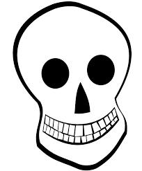 cartoon skeleton head halloween pinterest rh pinterest com cartoon skeleton head template cartoon skeleton with headphones